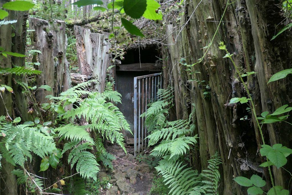 Le Kaiser-Tunnel. Fermé au public pour des raisons de sécurité.